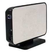 Внешний контейнер для 3.5 HDD S-ATA AgeStar 3UB3A8-6G, серебристый, USB 3.0