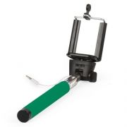 Монопод для селфи SmartBuy ONE, проводное управление, зеленый (SBMO-1010)