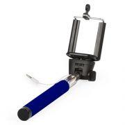 Монопод для селфи SmartBuy ONE, проводное управление, синий (SBMO-1000)