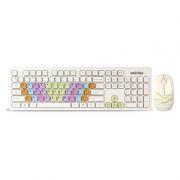 Комплект SmartBuy SBC-218346AG-W White, беспроводные клавиатура и мышь