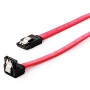 Кабель интерфейсный S-ATA III DATA, угловой, на защелке, 0.5 м, Cablexpert (CC-SATAM-DATA90)