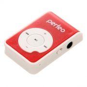 MP3 плеер Perfeo Music Clip Ride, красный (VI-M020 Red)