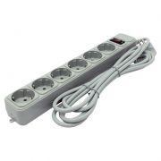 Сетевой фильтр ExeGate SP-6-3G, 3 м, 10A, 6 розеток, серый