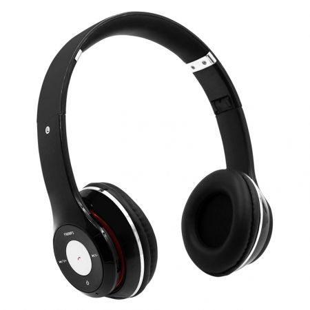 Гарнитура Bluetooth Qumo Freedom Play BT-0013, MP3, FM, черная (21781)