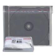 Конверт прозрачный для CD-BOX Jewel 10мм, матовый, 200шт,  A-Media