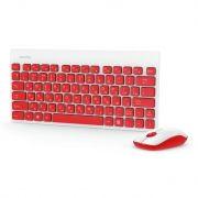 Комплект SmartBuy SBC-220349AG-RW Red/White, беспроводные клавиатура и мышь