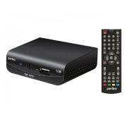 Цифровой телевизионный мини ресивер DVB-T2 PERFEO PF-T2-2 с HD-медиаплеером, внешний блок питания