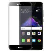 Защитное стекло для экрана Huawei P8 lite (17) Black, Full Screen Asahi, Perfeo (81)