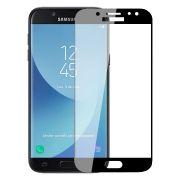 Защитное стекло для экрана Samsung Galaxy J5 (17) Black, Full Screen Asahi, Perfeo (96) (PF_5083)