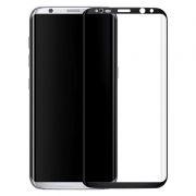 Защитное стекло для экрана Samsung Galaxy S8 Black, 3D Gorilla, Perfeo (122)
