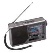 Радиоприемник RITMIX RPR-151 Grey, FM/AM/SW1-6, MP3