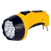 Фонарь SmartBuy, аккумуляторный, зарядка 220В, желтый, 7 LED (SBF-86-Y)