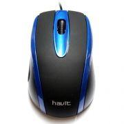 Мышь HAVIT HV-MS753 Black/Blue USB
