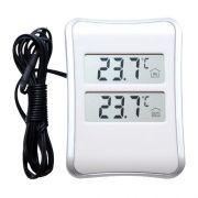 Термометр электронный комнатно-уличный Oxion OTM104 с выносным датчиком