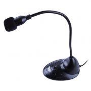 Микрофон BLAST BAM-120 на подставке, выключатель, ветрозащита
