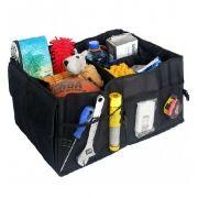 Автомобильная сумка-органайзер в багажник, 56х39x26,5 см, чёрная, BLAST BCO-520