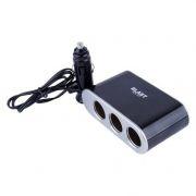Зарядное автомобильное устройство BLAST BCA-311, 3.1A USB + 3 прикуривателя с выключателями