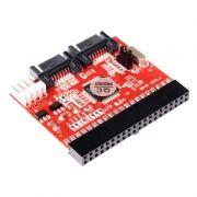 Переходник-адаптер интерфейсный 2-х направленный IDE-SATA/SATA-IDE, ORIENT 1S-1BN (OEM)
