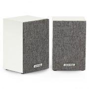 Колонки SmartBuy FUSION, дерево, белые/серые, питание от USB (SBA-3300)