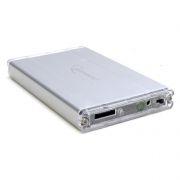 Внешний контейнер для 2.5 HDD S-ATA Gembird EE2-SATA-1, серебристый, алюминиевый, SATA