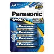 Батарейка AA Panasonic LR6/4BL EVOLTA, щелочная, 4шт, блистер