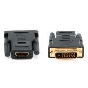 Адаптер DVI-D/M - HDMI/F, Cablexpert (A-HDMI-DVI-2)
