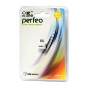 Адаптер OTG USB 2.0 Af - micro Bm, белый, Perfeo PF-VI-O003