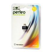 Адаптер OTG USB 2.0 Af - micro Bm, черный, Perfeo PF-VI-O003