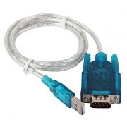 Адаптер USB Am - DB9M/RS232, 1.2 м, ORIENT USS-102