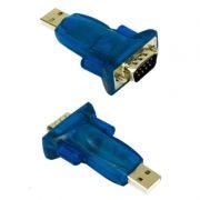 Адаптер USB Am - DB9M/RS232, крепеж винты, без кабеля, ORIENT UAS-002