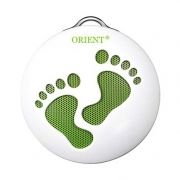 Колонка 1.0 ORIENT MC-011F, MP3, FM, аккумулятор, бело-зеленая