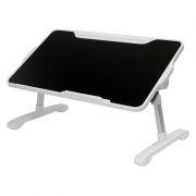 Раскладной портативный столик для ноутбука Orient FTNB-05, черный/белый
