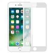 Защитное стекло для экрана iPhone 7 White, Full Screen Gorilla, глянцевое, Perfeo (78)