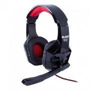 Гарнитура BLAST BAH-630, игровая, черный/красный
