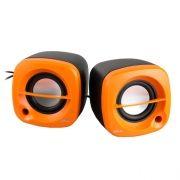 Колонки RITMIX SP-2030 USB черный/оранжевый