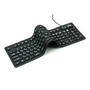 Клавиатура DIALOG KFX-05U USB, гибкая, черная