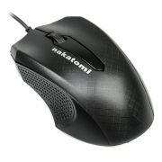 Мышь Nakatomi MON-07U Black USB