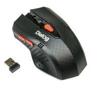 Мышь беспроводная DIALOG MROP-09U Black