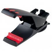 Держатель автомобильный на присоске для планшета/смартфона до 8, черный, Perfeo PH-522