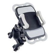 Держатель велосипедный для смартфона до 6, на руль или штангу, черн./серый, Perfeo PH-302
