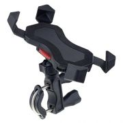 Держатель велосипедный для смартфона до 6, на руль, угловой, черный, Perfeo PH-303