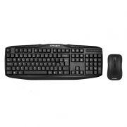 Комплект CROWN CMMK-952W Black, беспроводные клавиатура + мышь