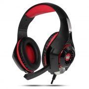 Гарнитура CROWN CMGH-101T Black/Red, игровая