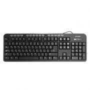 Клавиатура CROWN CMK-300 Black, влагозащищенная, USB