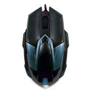 Мышь игровая Crown CMXG-606 Cyan metallic/Blue USB