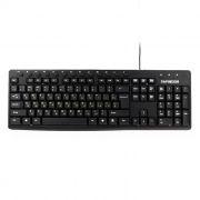 Клавиатура Гарнизон GKM-125, 13 доп. клавиш, черная, USB