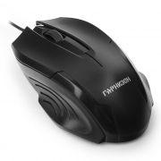 Мышь Гарнизон GM-110, черная, USB