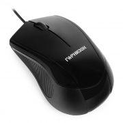 Мышь Гарнизон GM-200, черная, USB