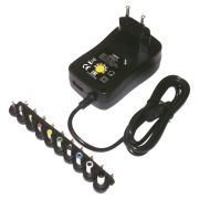 Адаптер питания Delta+ Delta+ 3-12В/2000мА, 1.2A USB+10 штекеров (ELT-3122000)