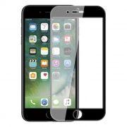 Защитное стекло для экрана iPhone 7+ Black, 3D Gorilla, анти-шпион, Perfeo (112) (PF_5099)